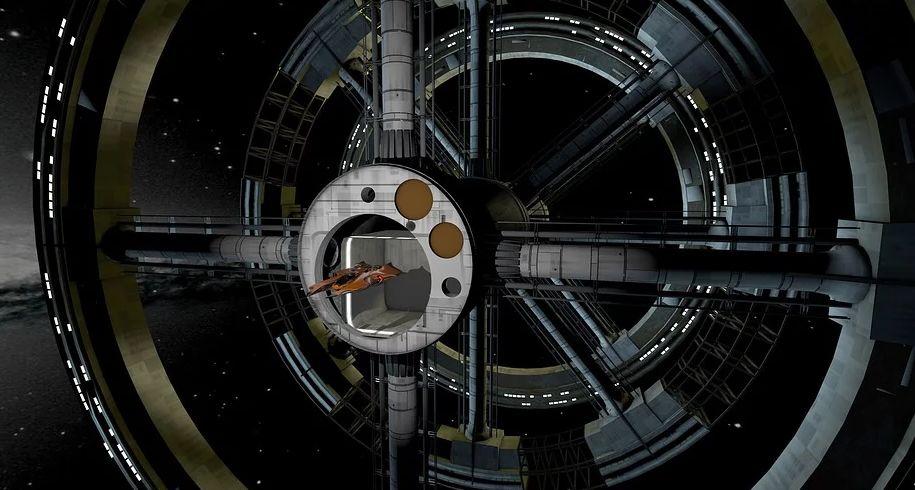 hotel dans l'espace