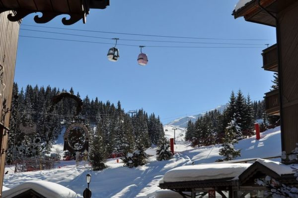 vtc ski courchevel